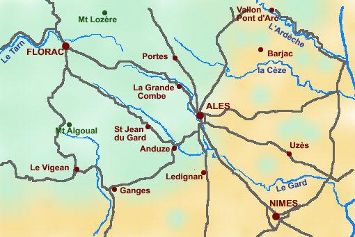 Sentiers Et Circuits De Randonnees Pedestres En Cevennes